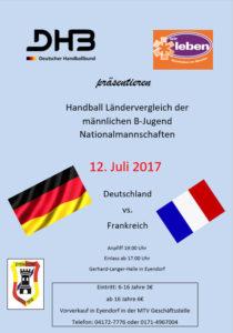 Länderspiel in Eyendorf